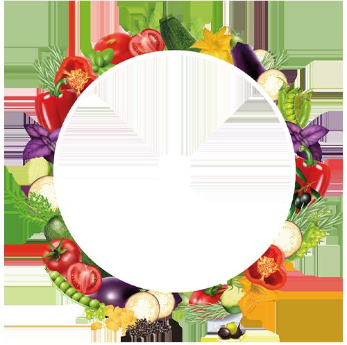 Halo de verduras